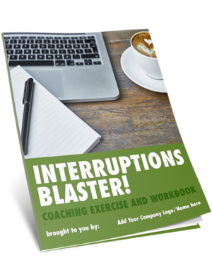 Manage Interruptions Coaching Exercise COVER