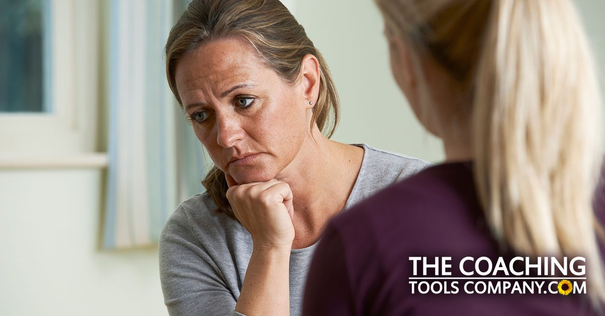 Coach and Client Dealing with Difficult Emotions in Session