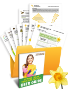 Spring Clean Your Life Coaching Exercises, Tools, Forms, Templates, Worksheets in a Folder