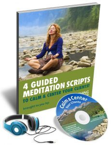 5 Minute Guided Meditation Script in this KIT to Find Calm