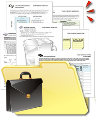 Image of Business Coaching Tools in Folder