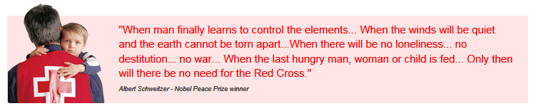 Red Cross Quote