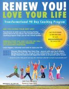Renew You Love Your Life Coaching Program Poster
