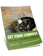Set Your Compass - Review and Celebrate 2017 & Prepare for 2018 Goal-Setting