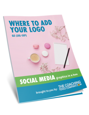 Social Media Graphics for Coaches WHERE ADD LOGO (Q3)