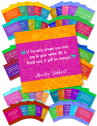 65 Graphics - Each with an Inspirational Daily Quote (Q4)