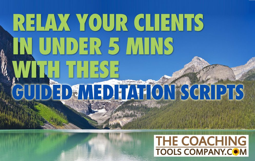 Relax Your Clients in Under 5 Minutes with these Guided