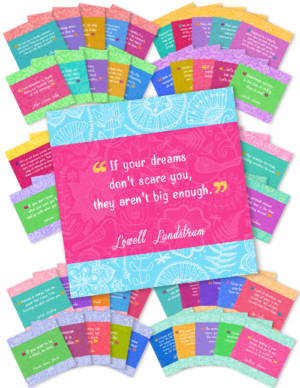 65 Graphics - Each with an Inspirational Daily Quote (Q1)