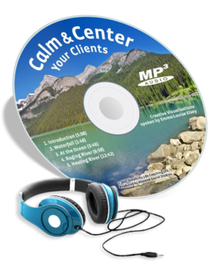 Guided Meditation Script to Find Calm CD Image for AUDIO Files