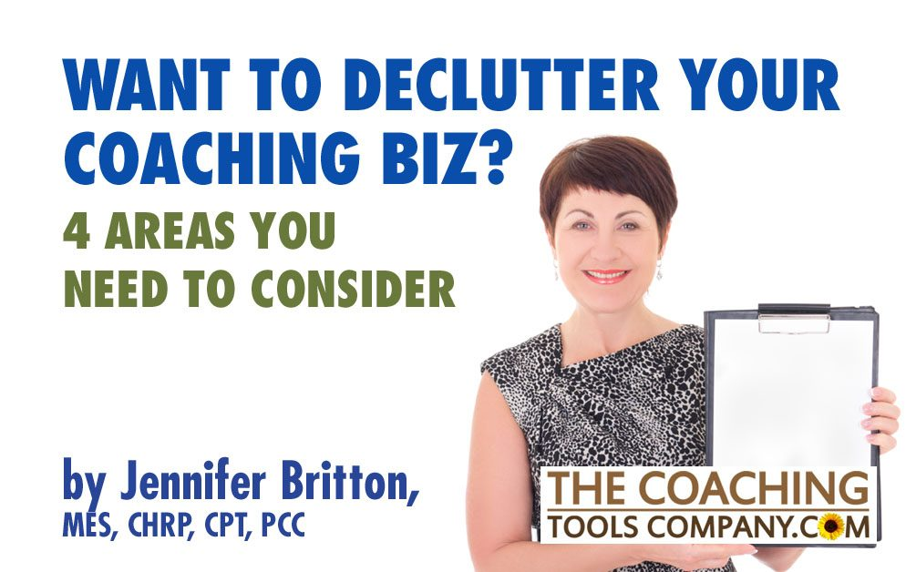 Woman holding clipboard for Jennifer Britton Article on Decluttering