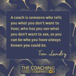 Coaching Quotes Image - Tom Landry