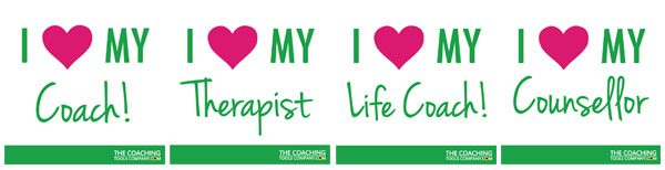 World Mental Health Day - I Heart My Coach, Counsellor and Therapist Graphics