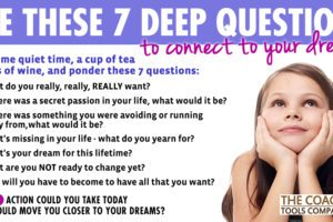 7 Coaching Questions to Connect to your Dreams!