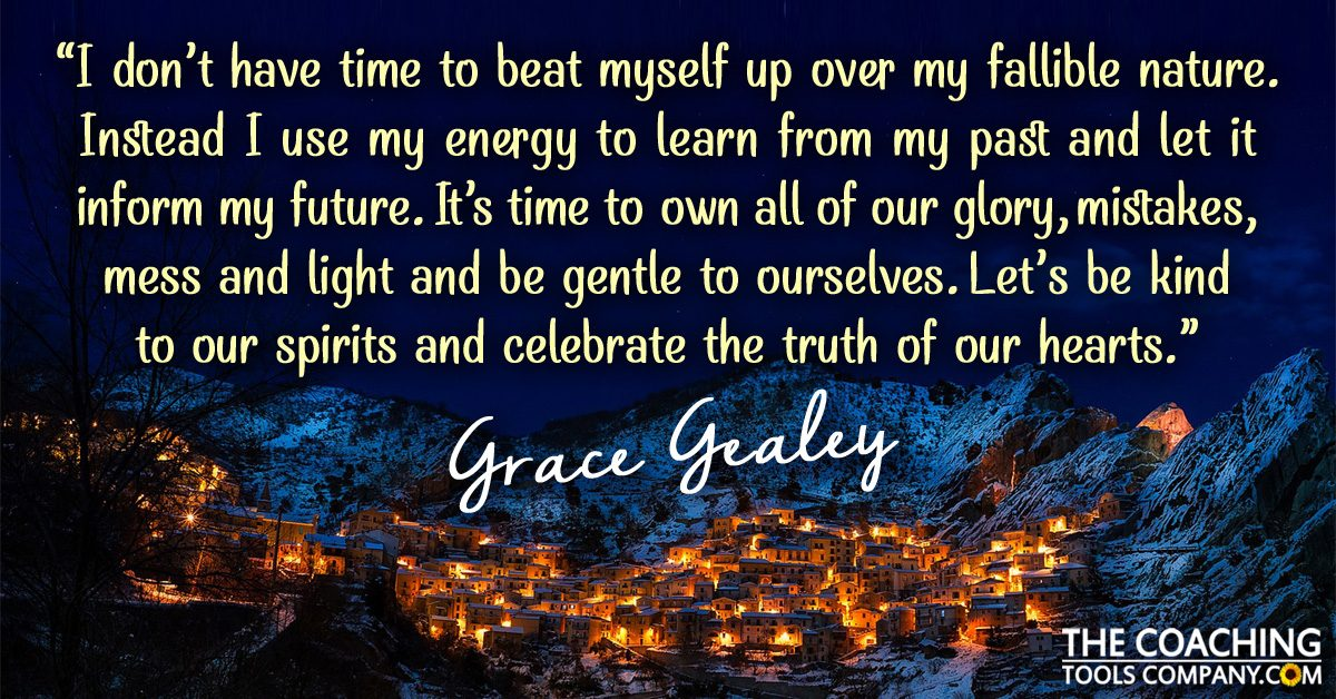 happy holidays inspirational quote from grace gealey