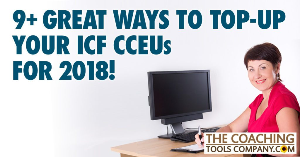 9 Ways to Top up ICF CCEUs for 2018