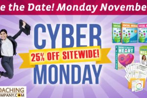 Cyber Monday Coaching Tools Sale