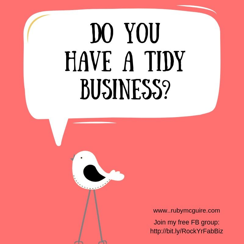 Bird Tweeting - Do You Have a Tidy Business?