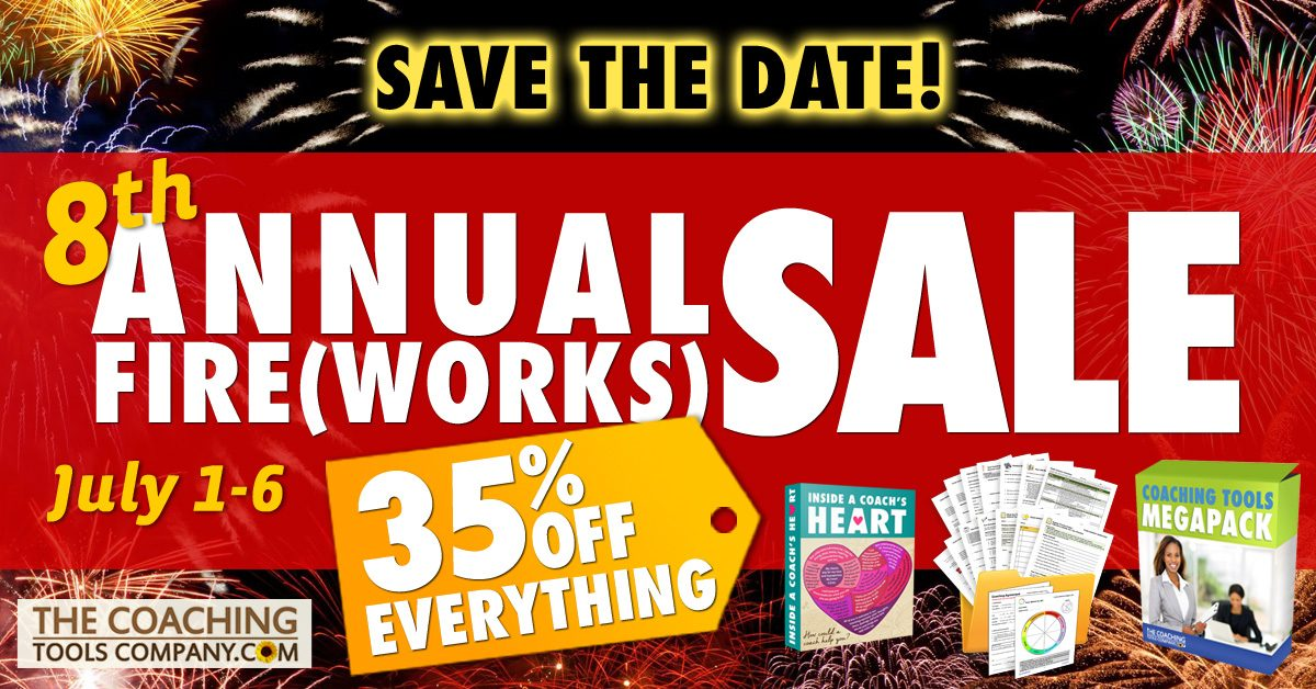 8th Annual Fireworks Sale - Save the Date