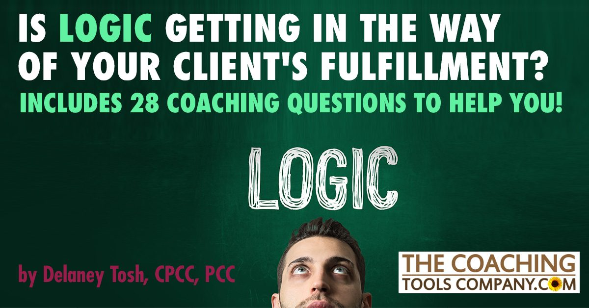 Scared Looking Client Contemplates the Word LOGIC