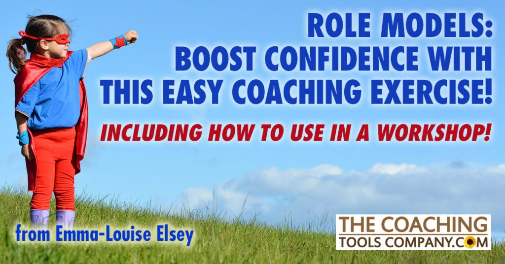 Boost Confidence Coaching Exercise shown by Girl as a superhero