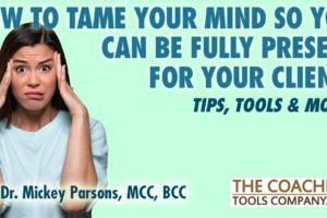 Inner Critic Takes Over - Coach Holding Head