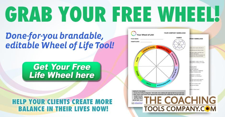 Image of Free Life Balance Wheel and link to get it