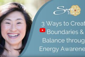 Sura Smiling with 3 Ways Create Boundaries