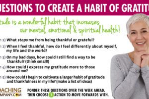 Coaching Questions for Gratitude