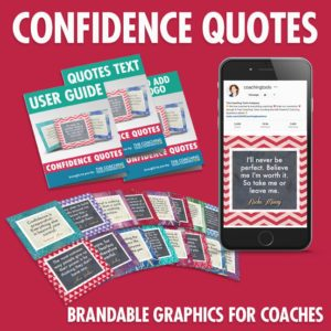 Coaching quotes about Confidence