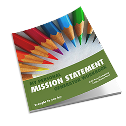 Personal Mission Statement Generator Workbook