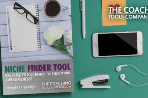 Niche Finder Tool on Desk