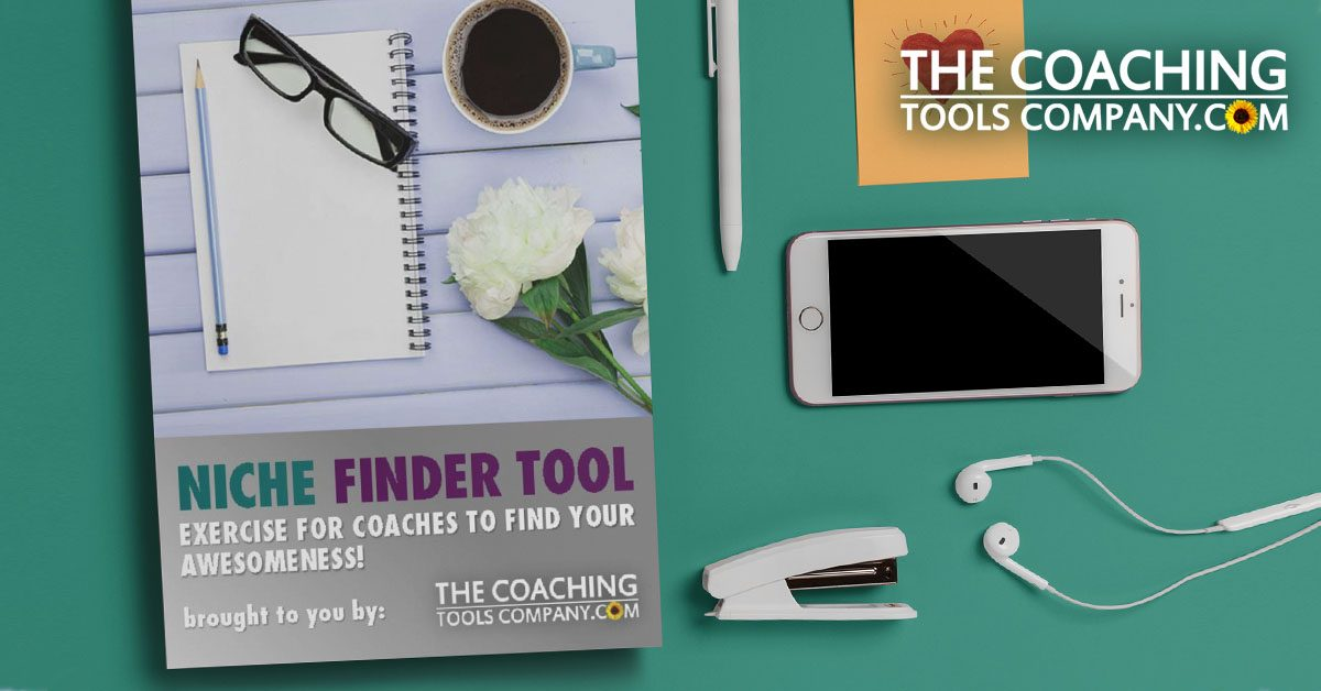 Coaching Niche Finder Tool on Desk