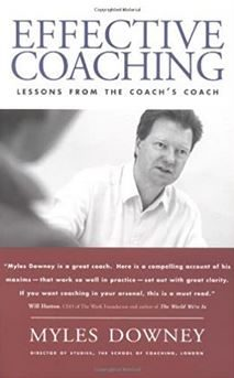 Effective Coaching Book by Myles Downey