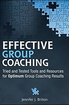 Effective Group Coaching Book by Jennifer Britton