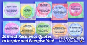 Image of all 10 Resilience Quotes