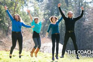 Coaching Tools Company Team - jumping