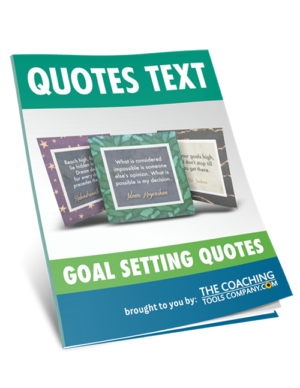 Quotes Text Guide 31 Goal Setting Graphics