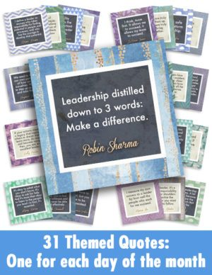 Leadership Quotes - all 31 as Graphics