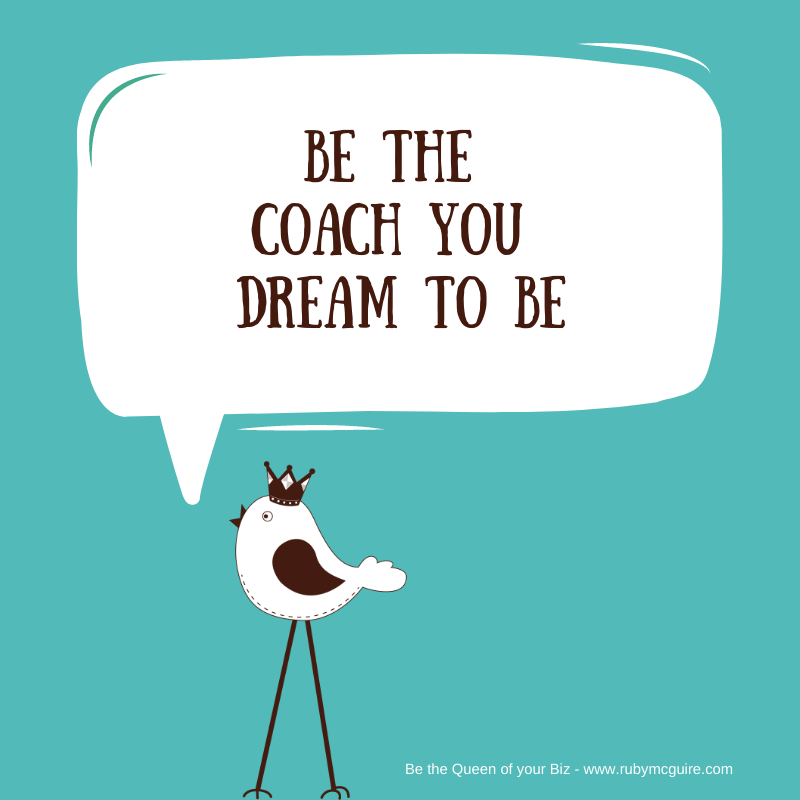 """Bird Tweeting """"Be The Coach You Dream to Be"""""""