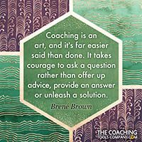 Coaching Quotes Image - Brene Brown