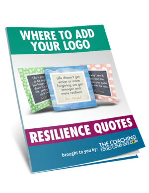 Where to Add Your Logo for Resilience Quotes Product