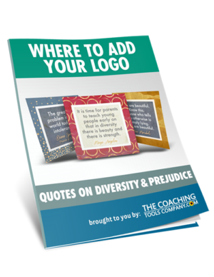 Where to Add Logo GUIDE for Diversity & Prejudice Quotes