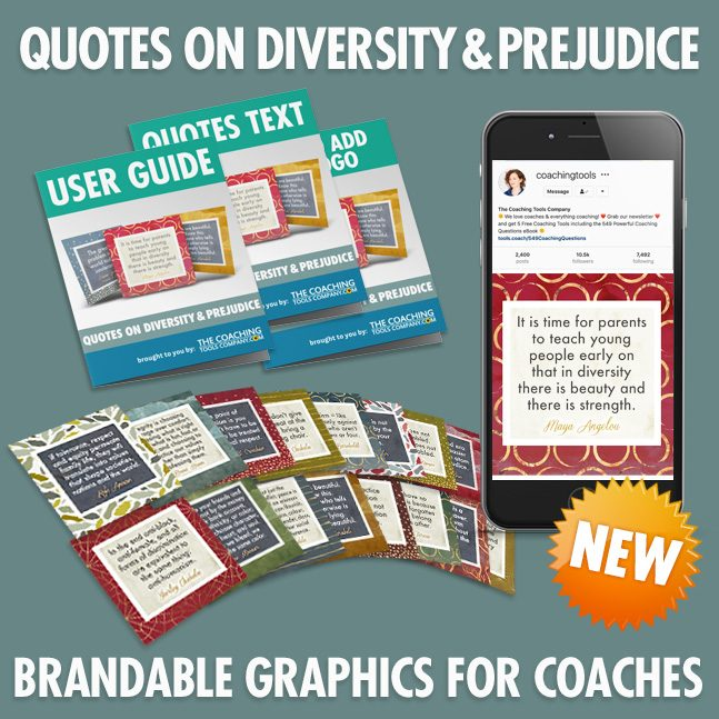 Quotes on Diversity and Prejudice with User Guide and Mobile Phone